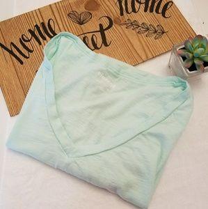 Seafoam green basic t-shirt